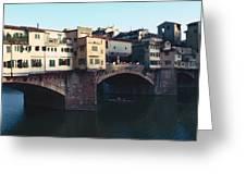 Ponto Vecchio Florence Palette Greeting Card