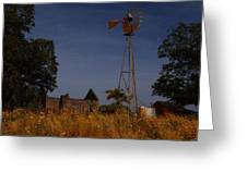 Pontotoc Ruins 2am-110391_edit Greeting Card