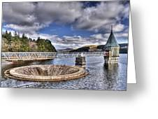 Pontsticill Reservoir 2 Greeting Card