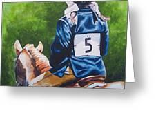 Pony Girl Greeting Card