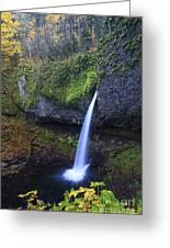 Ponytail Falls Greeting Card