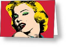 Pop Art Greeting Card