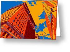 Pop Art Nyc Greeting Card