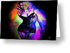 Pop Art Sexy Lingerie Greeting Card