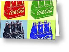 Pop Coke Greeting Card