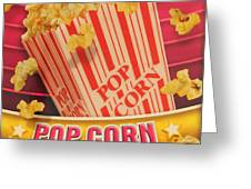 Pop Corn Greeting Card