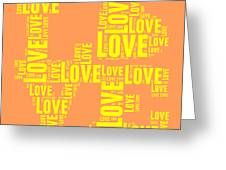 Pop Love 3 Greeting Card