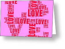 Pop Love 4 Greeting Card