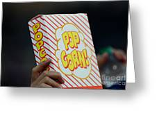 Popcorn Greeting Card by Alan Look