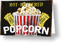 Popcorn Please Greeting Card