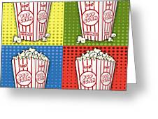 Popcorn Pop Art-jp2375 Greeting Card