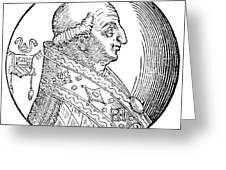 Pope Gregory II (d Greeting Card
