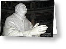 Pope Pius Ix Santa Maria Maggiore Greeting Card