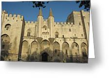 Popes Palace In Avignon Greeting Card