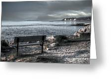 Popham Beach Maine Greeting Card