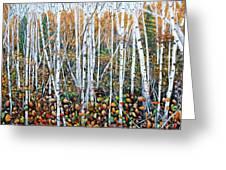 Poplar Art Greeting Card