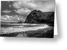 Popolu Beach Hawaii 4 Greeting Card