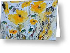 Poppies 03 Greeting Card