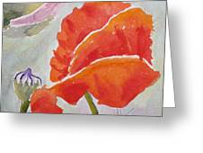 Poppies 1 Greeting Card