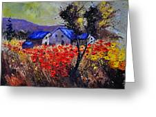 Poppies 4110 Greeting Card