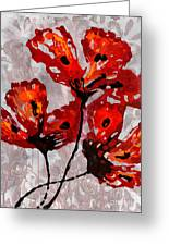 Poppies 47 Greeting Card