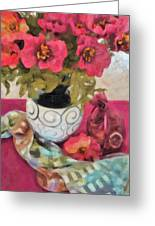 Poppies And Spices Greeting Card