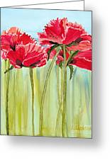 Poppies II Greeting Card