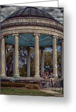 Popps Bandstand In City Park Nola Greeting Card