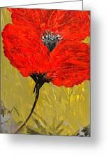 Poppy 46 Greeting Card
