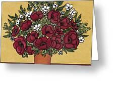 Poppy Bouquet Greeting Card