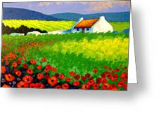 Poppy Field - Ireland Greeting Card
