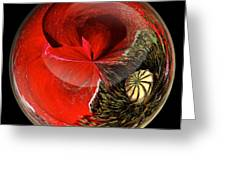 Poppy Globe Greeting Card