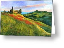 Poppy Hill Greeting Card