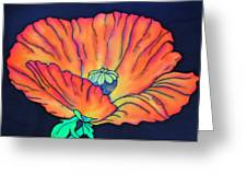 Poppy I Greeting Card