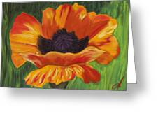 Poppy Number 2 Greeting Card