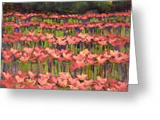 Poppy Romance Greeting Card