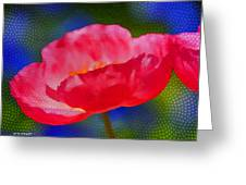 Poppy Series - Touch Greeting Card