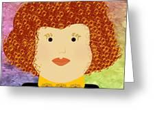 Porcelain Doll 12 Greeting Card