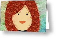 Porcelain Doll 19 Greeting Card