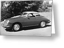 Porsche 356 Hardtop Greeting Card