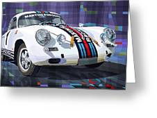 Porsche 356 Martini Racing Greeting Card