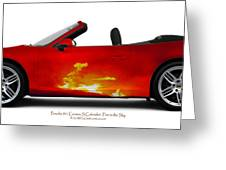 Porsche 911 Greeting Card