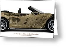Porsche 911 Devils Den Greeting Card