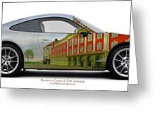 Porsche 911 Elite Hotel Joenkoeping Greeting Card