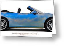 Porsche 911 Elvington Skies Greeting Card