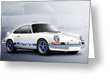 Porsche 911 Rs 1973 Greeting Card by Etienne Carignan