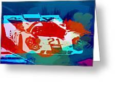 Porsche 917 Racing 1 Greeting Card