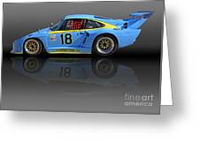 Porsche 935 K3 Slant-nose Greeting Card