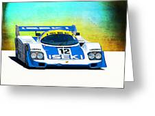 Porsche 956c - 118 Greeting Card