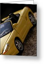 Porsche Car Greeting Card